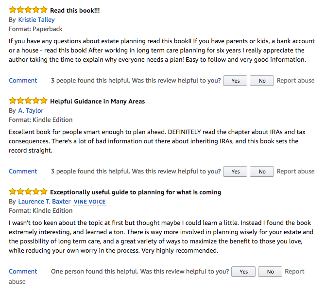 Amazon Testimonials For You Need A Plan